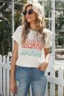 Camiseta con estampado Sunshine