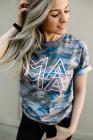 Camiseta MAMA Graphic Modern Camo