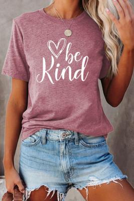 футболка с надписью be kind