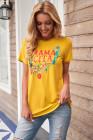 Mamacita con camiseta de cactus