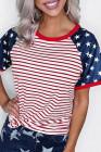 Playera con bandera americana