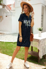 NOPE not today T-shirt Mini Dress