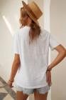 DON'T MESS WITH MAMA Camiseta blanca