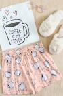 COFFEE IS MY LOVER Lounge Set. مجموعة الصالة الخاصة بي