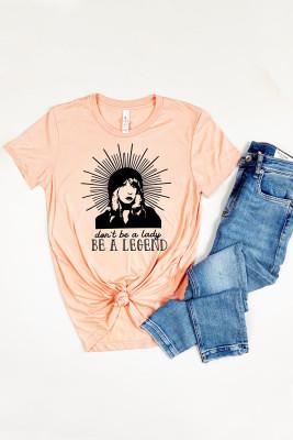 Camiseta con estampado BE A LEGEND