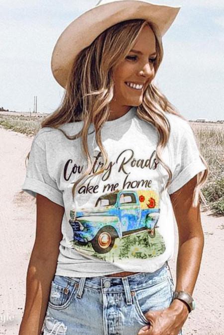 Country Roads Take me home футболка