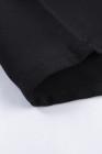 فستان تي شيرت برقبة على شكل V وطبعة ليوبارد على شكل قلب