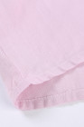 Camiseta sin mangas rosa hueca